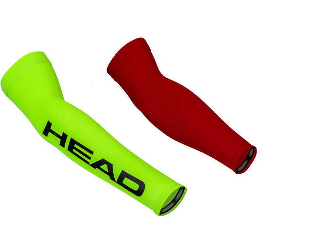 Head Neon Lycra Sleeves red/yellow